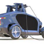 prototip de cotxe elèctric virante
